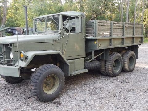 runs and drives 1957 AM General Utica Bend military truck for sale