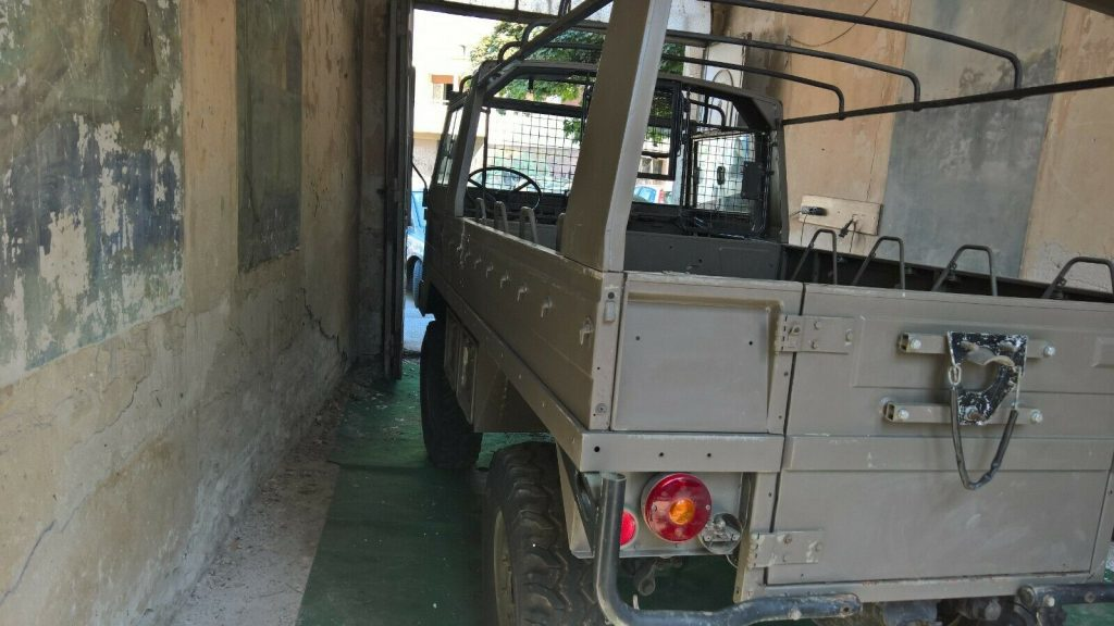 all original 1976 Pinzgauer 710m Military