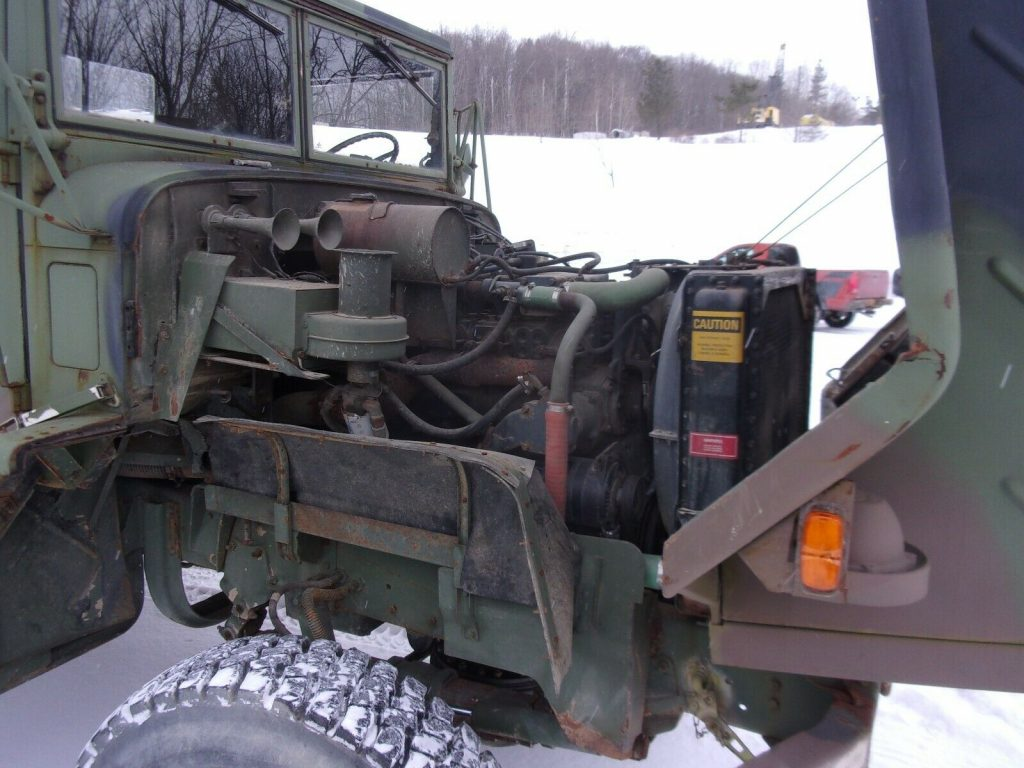 completely serviced 1986 AM General 6×6 Truck military