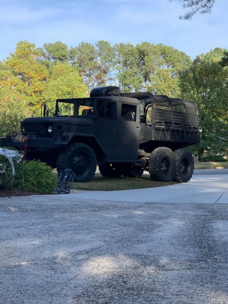 custom crew cab 1971 AM General Deuce and a half military