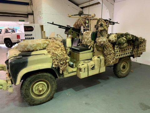 excellent shape 1987 Land Rover 110 SAS DPV replica military for sale