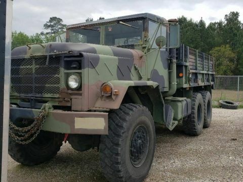 good running 1984 AM General 5 ton military for sale