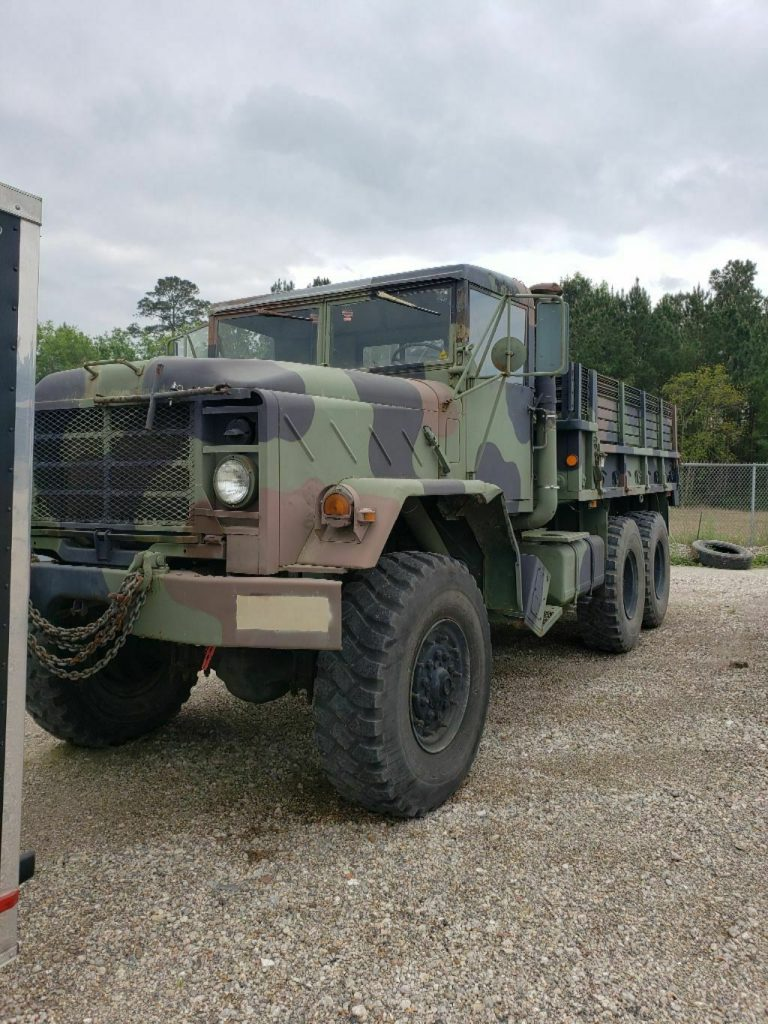 good running 1984 AM General 5 ton military