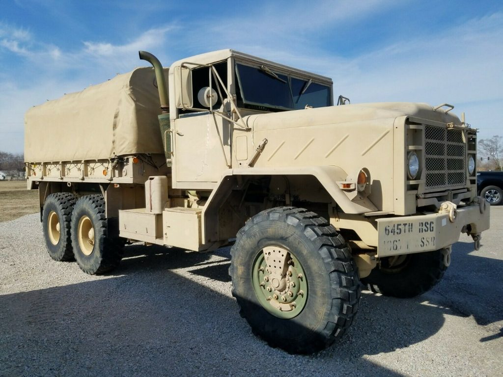 great shape 1990 AM General M923a2 truck military