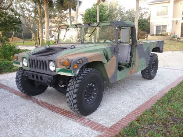great shape 1992 AM General Humvee M998 Hmmwv for sale