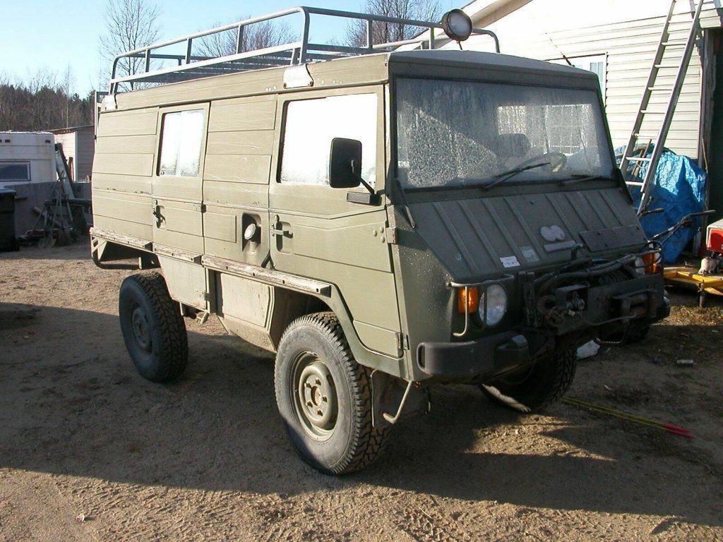 needs TLC 1984 Pinzgauer 710K military