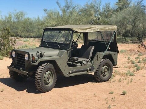 pertly restored 1970 AM General Jeep military for sale
