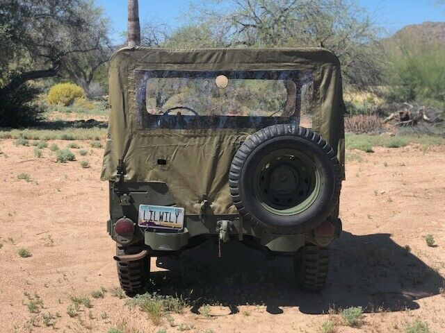 pertly restored 1970 AM General Jeep military