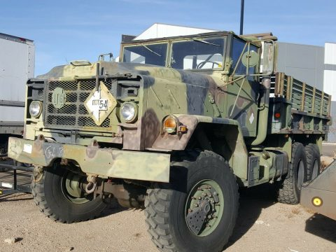 solid 1991 BMY Harsco M923a2 5 Ton 6X6 Military for sale