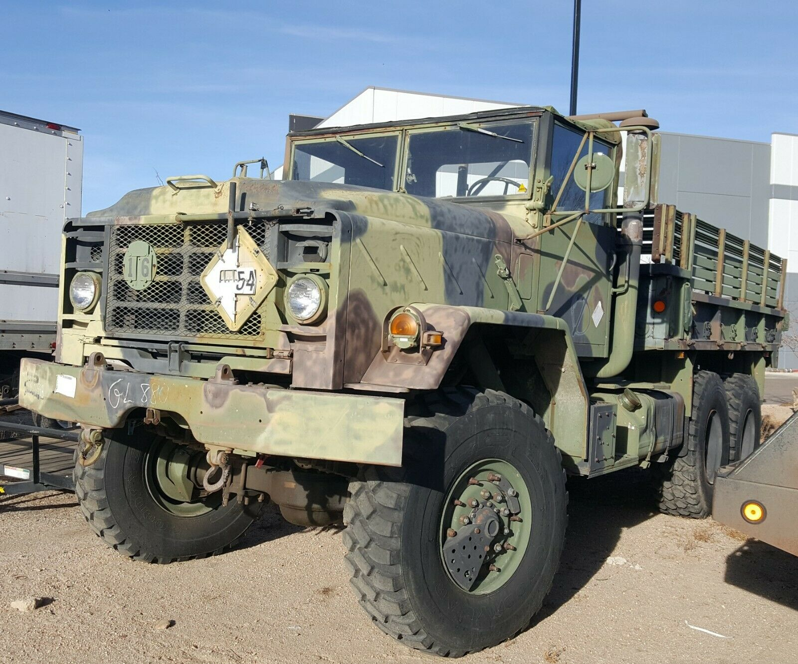 solid 1991 BMY Harsco M923a2 5 Ton 6X6 Military