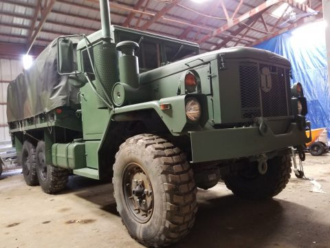 very good shape 1993 AM General M35 A3 2 1/2 Ton 6×6 military for sale