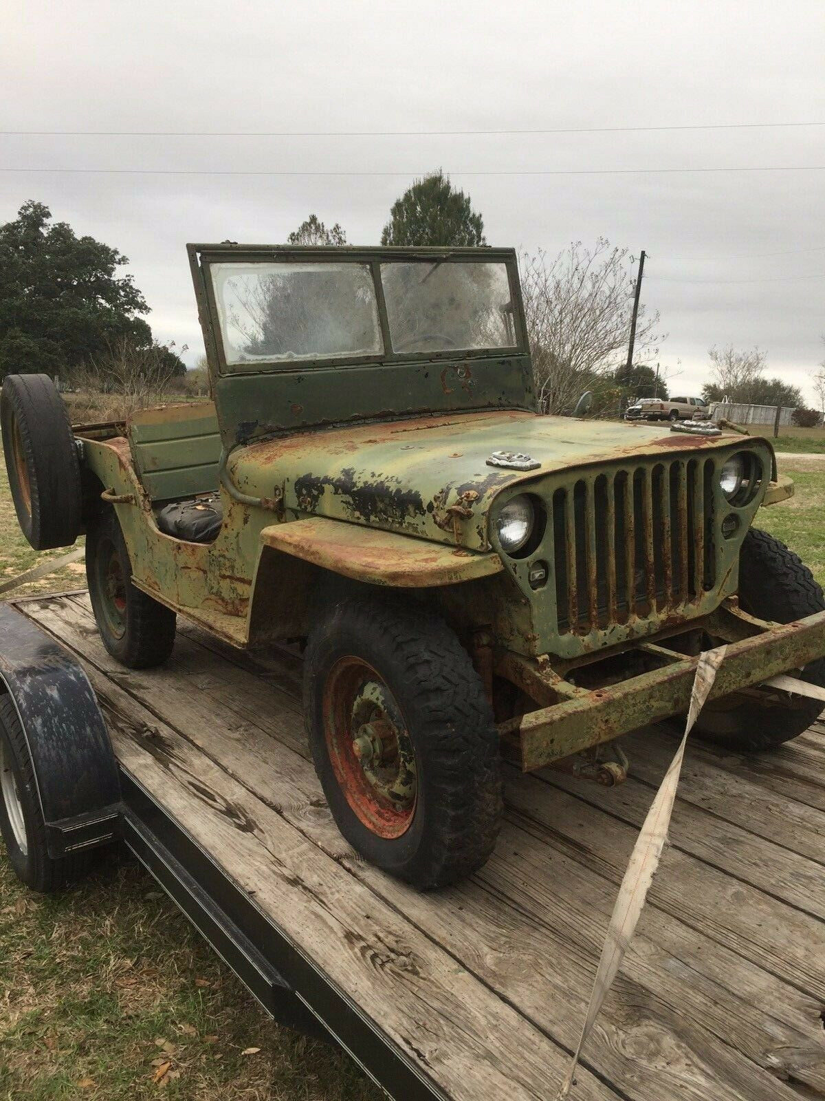 barn find 1945 Jeep GPW military