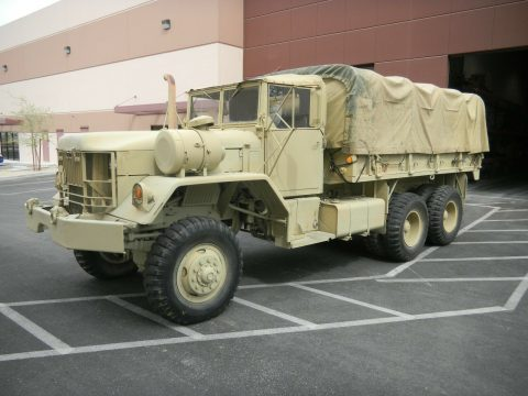Fully Operational 1971 AM General Reo Cargo Truck 5 Ton 6×6 military for sale