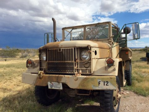 low miles 1970 AM General M35 A2 Deuce & a half military for sale