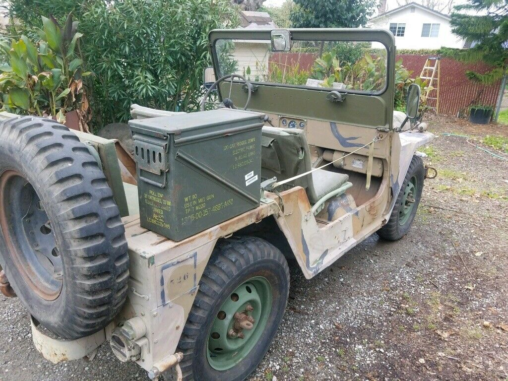 new parts 1968 Ford Jeep M151a1 MUTT military