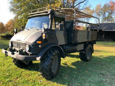 show winner 1975 Unimog 416 military for sale