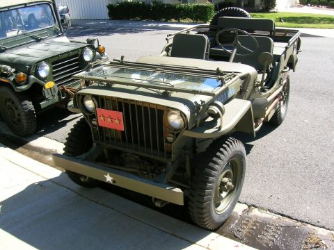 slat grille 1942 Willys MB military for sale