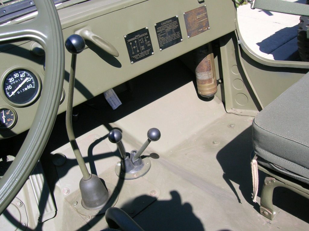 slat grille 1942 Willys MB military