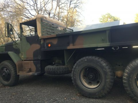 super clean low miles 1979 AM General M35a2 Deuce and a half military for sale