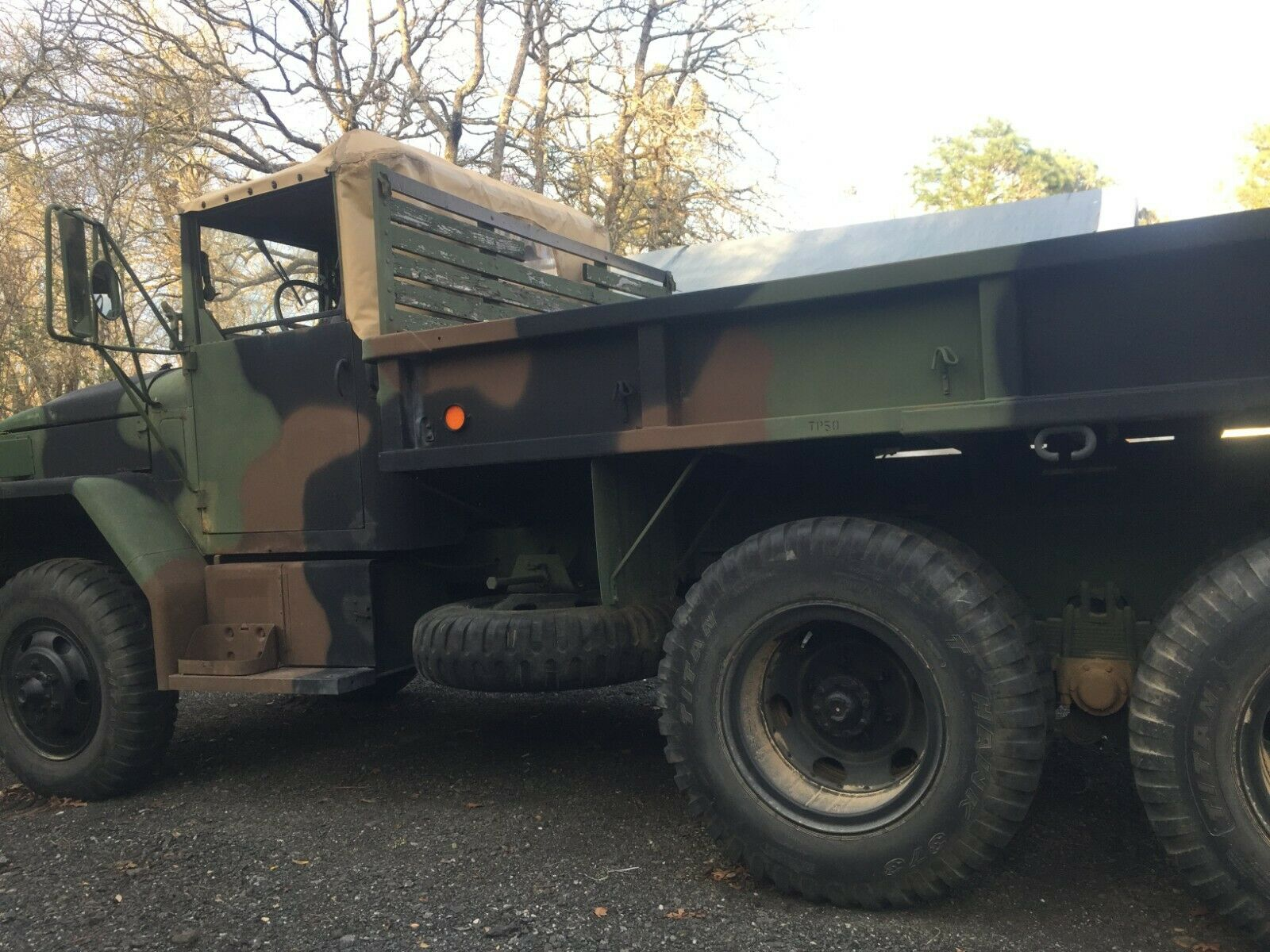 super clean low miles 1979 AM General M35a2 Deuce and a half military