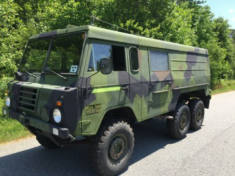 universal 1975 Volvo Tgb131 A MT, ex. Swedish military for sale