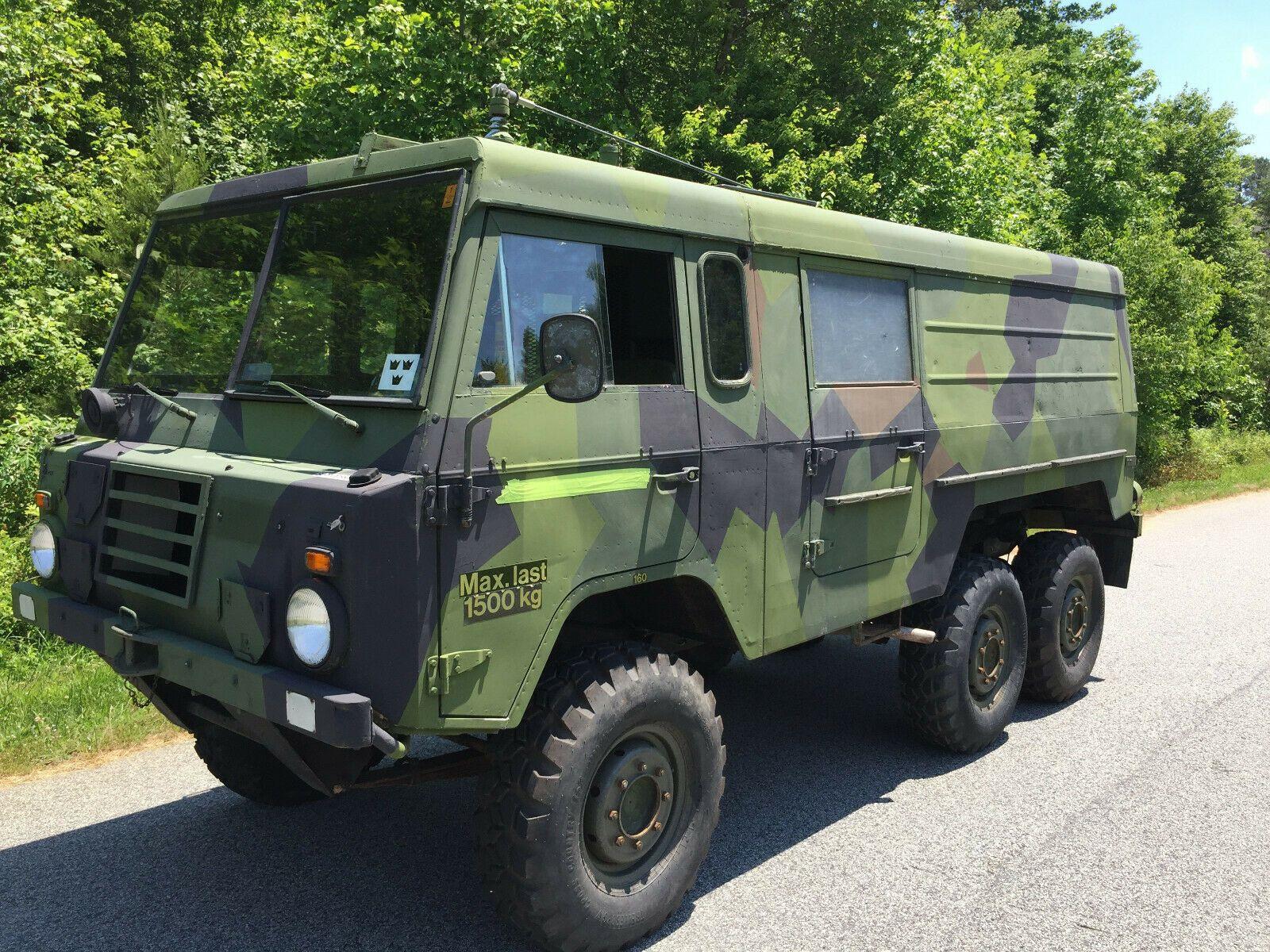 universal 1975 Volvo Tgb131 A MT, ex. Swedish military for sale