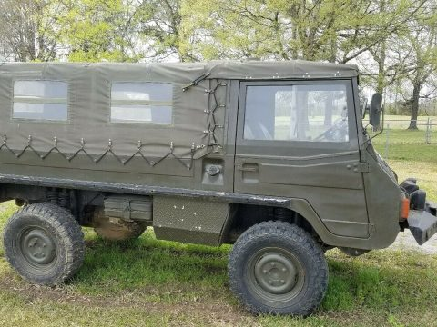 upgraded 1974 Steyr Puch Pinzgauer military for sale