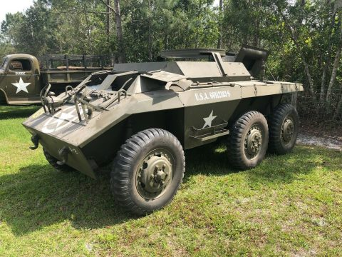 very clean 1943 Ford M20 Military vehicle for sale