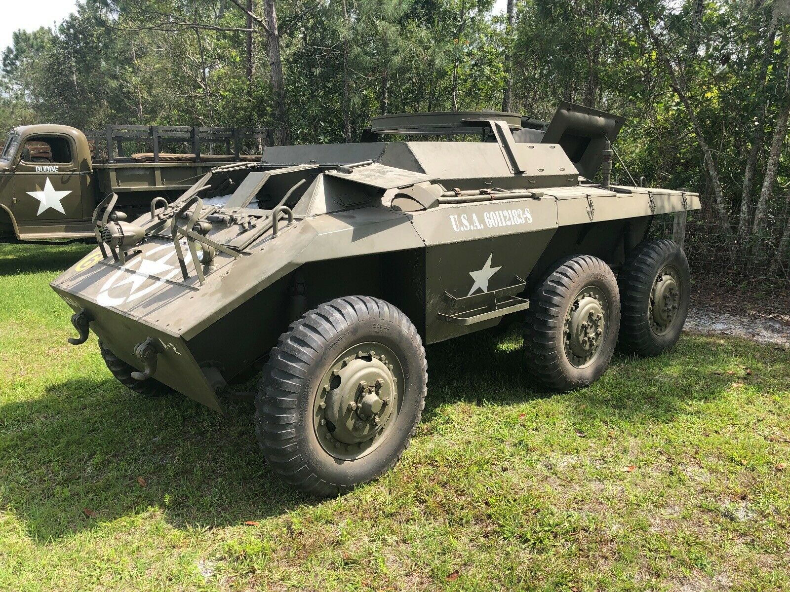 very clean 1943 Ford M20 Military vehicle