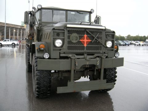 well maintained 1984 M923a (5) Ton Troop Carrier military for sale