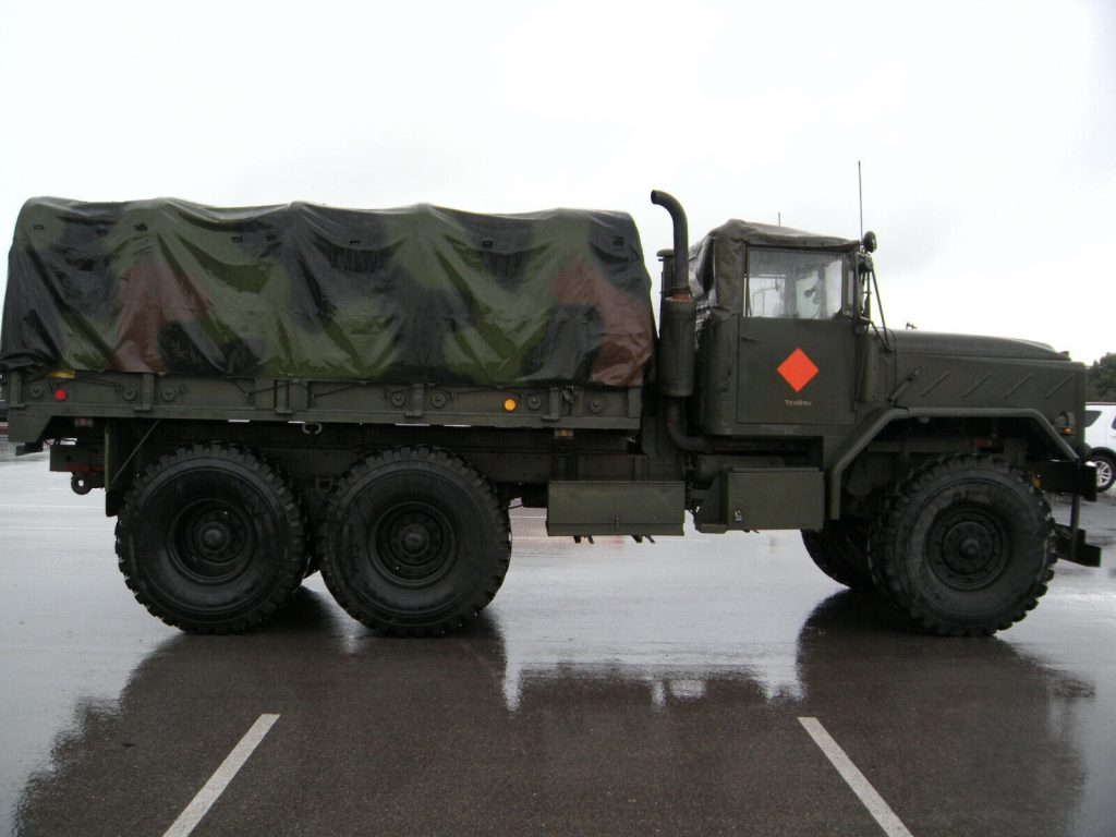 well maintained 1984 M923a (5) Ton Troop Carrier military