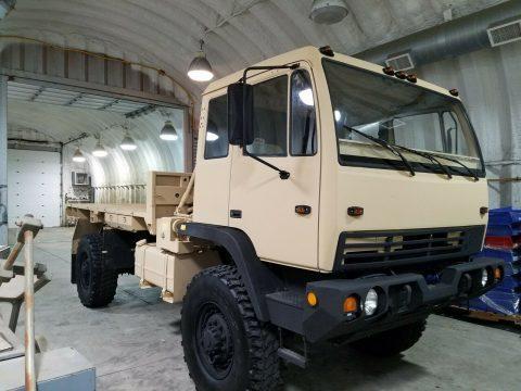 clean 1998 Stewart & Stevenson LMTV M 1078 military for sale