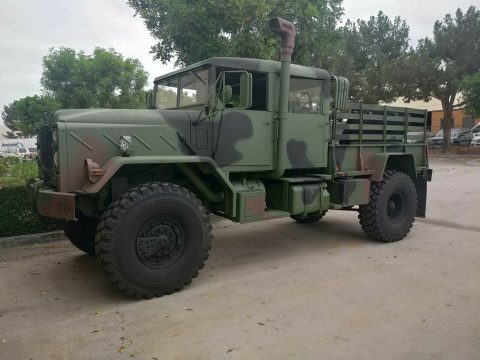 Custom Bobbed 1991 BMY Harsco 5 ton m932a2 military for sale