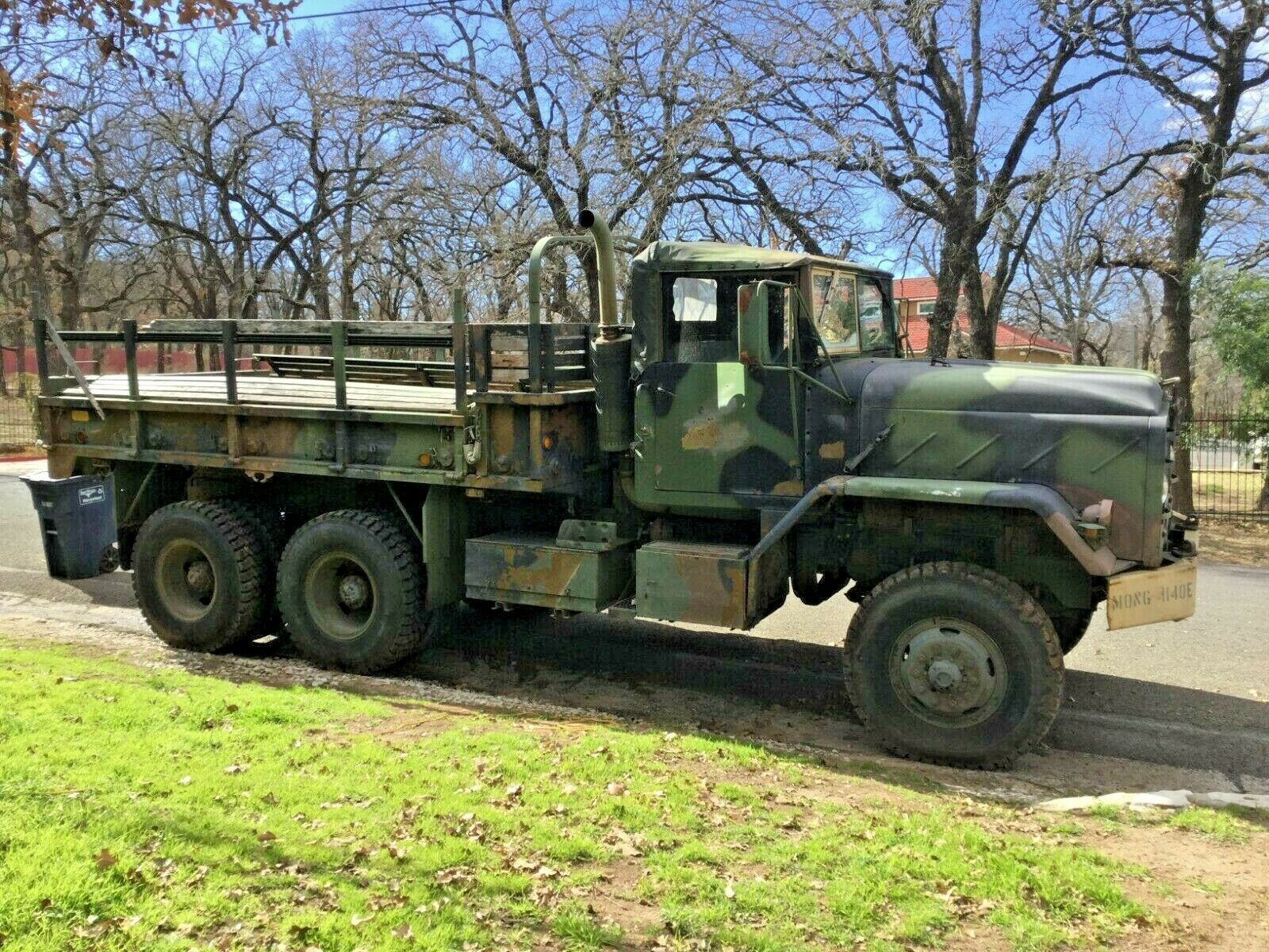 great running 1989 AM General M923 5 TON Cargo military