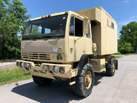 great running 2000 Stewart & Stevenson M1079a1 LMTV 4X4 Van military for sale