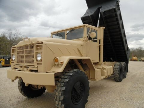 great shape 1990 BMY M927a2 dump Truck Military for sale