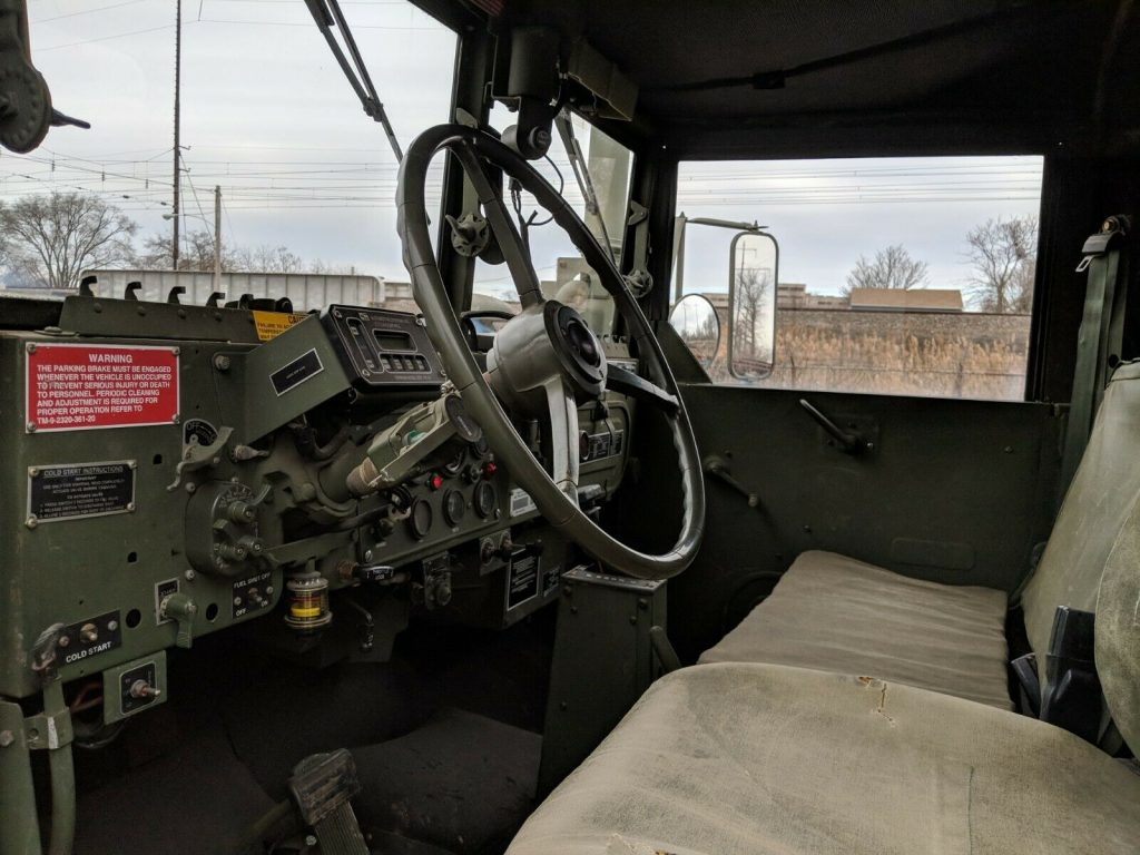 great shape 1993 AM General M35a3 Deuce and 1/2 military