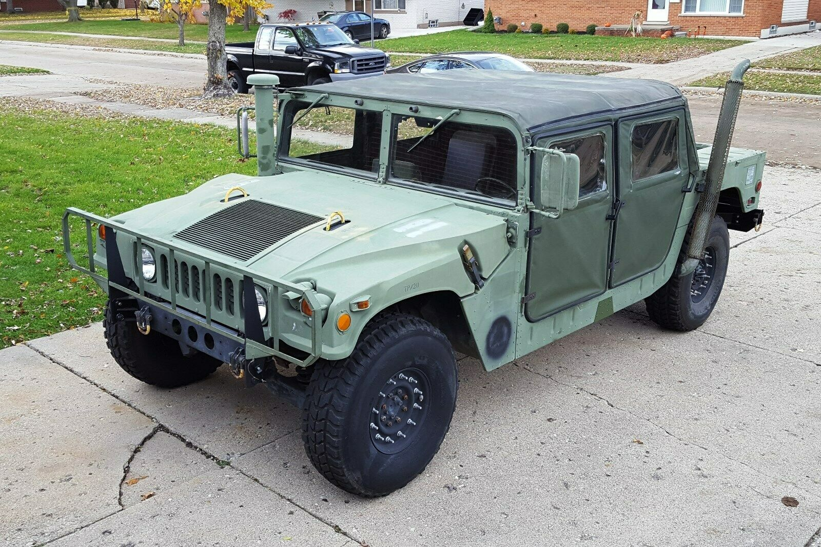 low mielage 1985 AM General M998 Humvee Military for sale