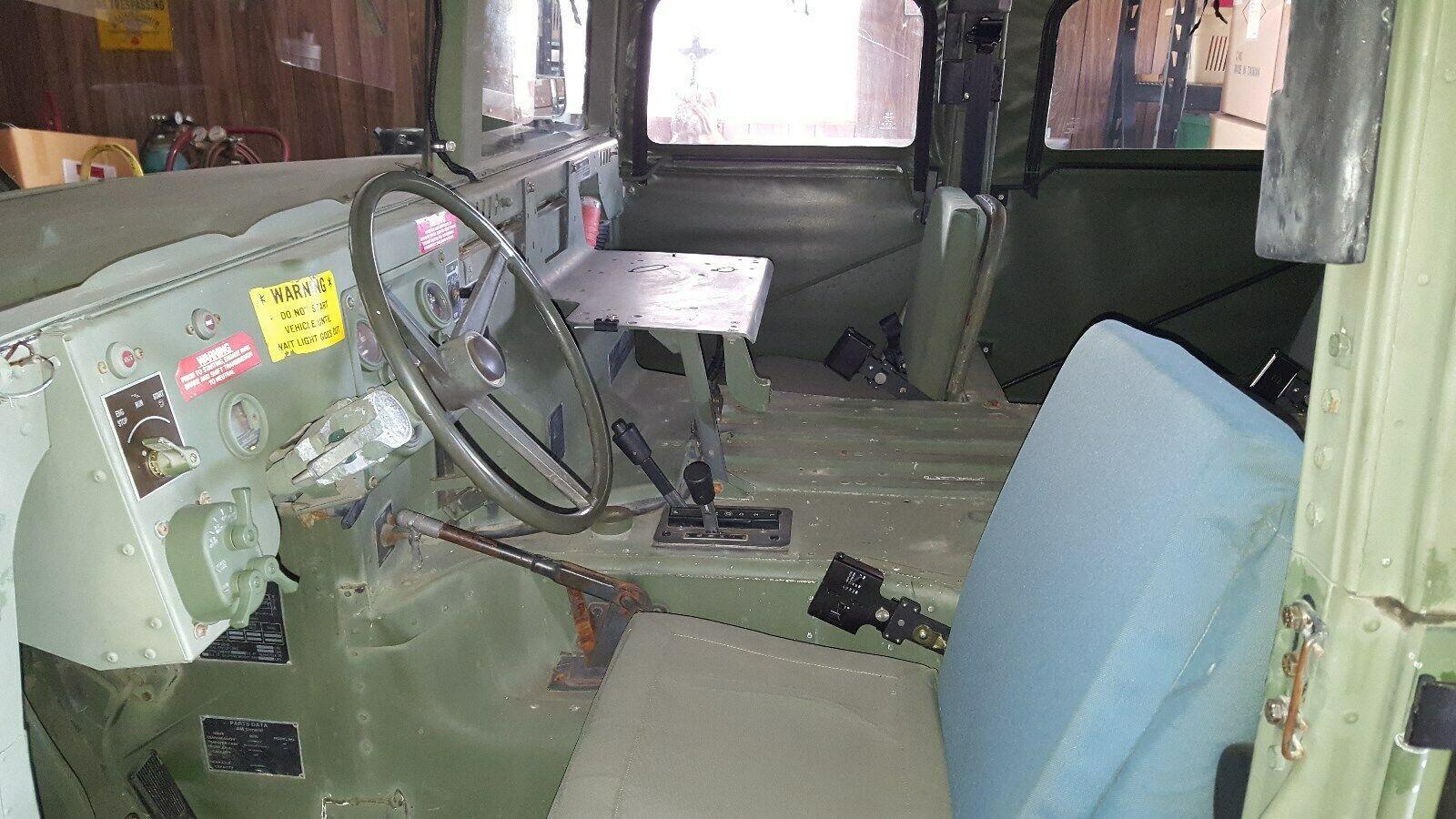 low mielage 1985 AM General M998 Humvee Military