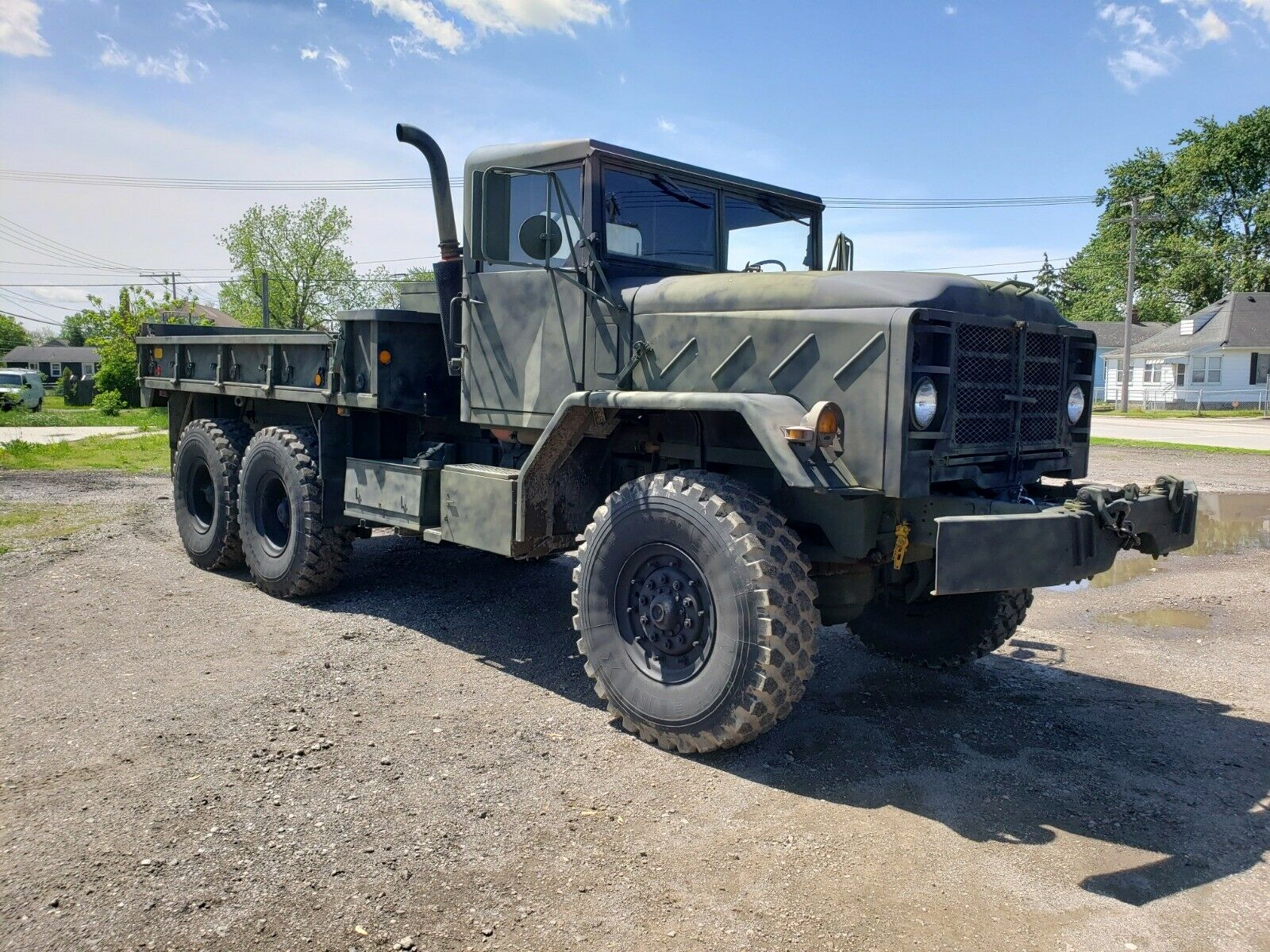 low miles 1985 AM General M923a1 Military for sale