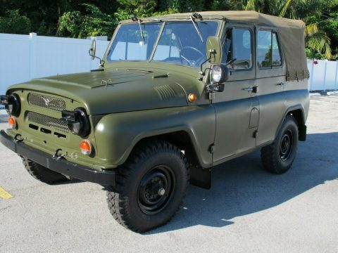 low miles 1989 UAZ 469 Military for sale