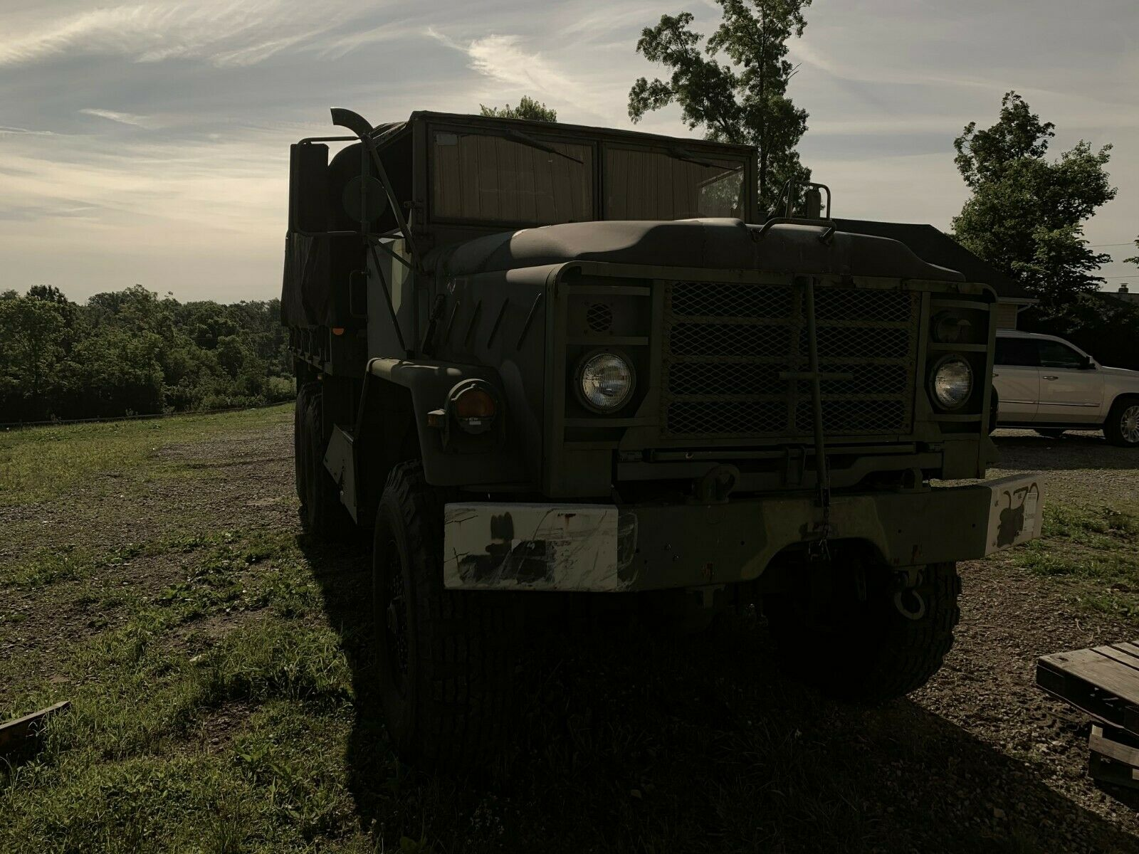 low miles 1991 BMY M923A2 military for sale
