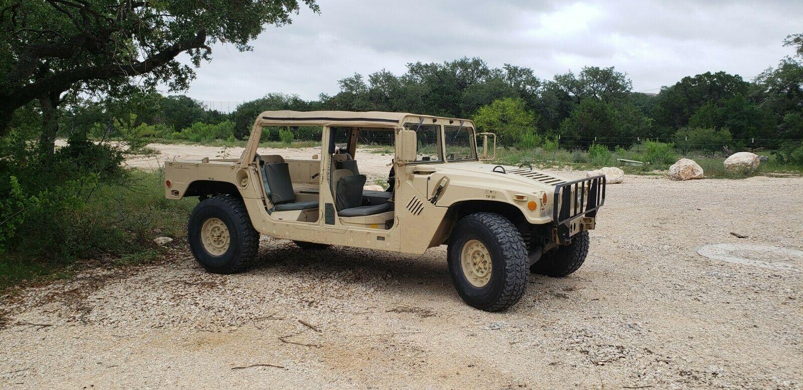 mostly original 1989 AM General M998 Humvee Hummer military