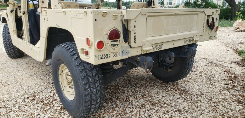 mostly original 1989 AM General M998 Humvee Hummer military