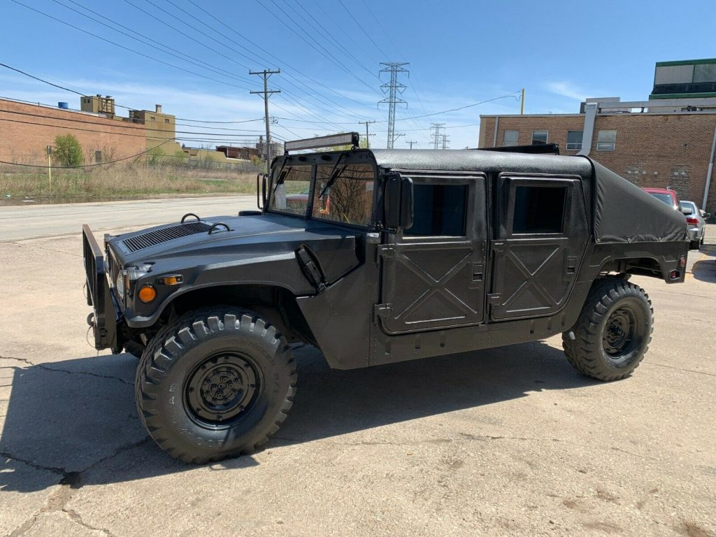 restored 1989 AM General Hummer M998 Humvee military