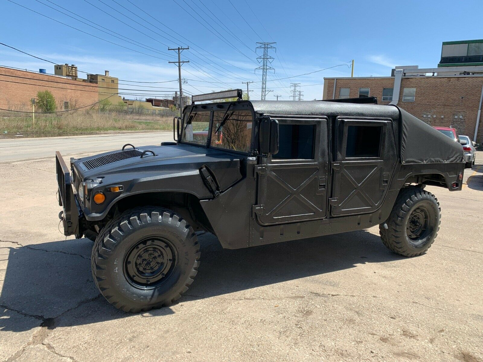 restored 1989 AM General Hummer M998 Humvee military for sale