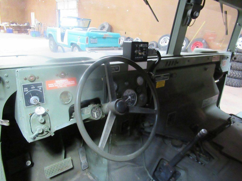 solid 1987 Hummer H1 Original military