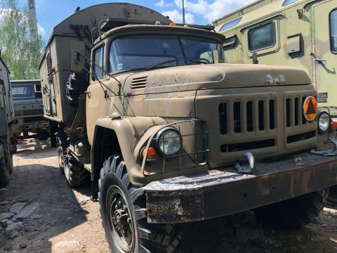 solid 1987 ZIL 131 military for sale