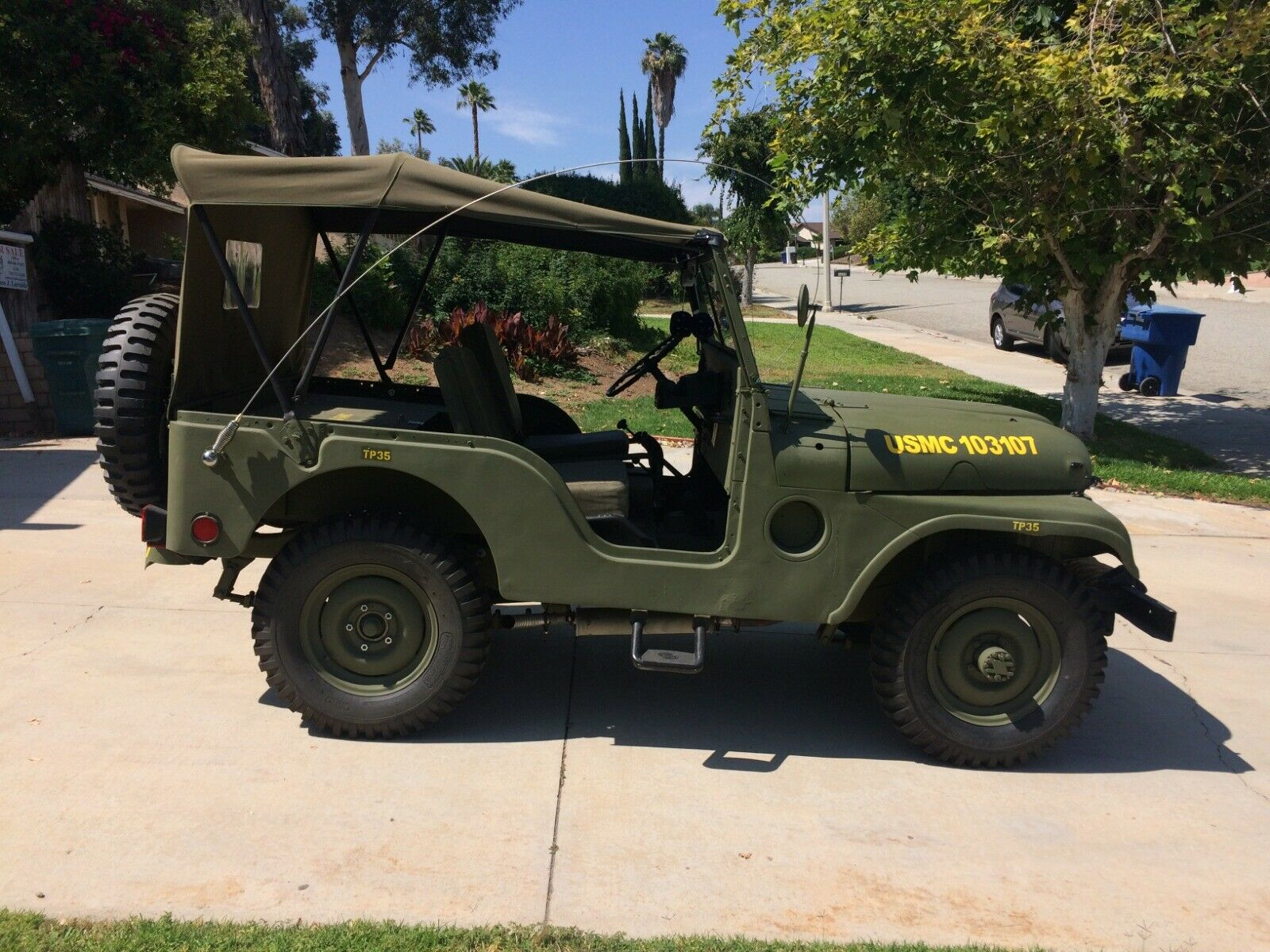 customized 1952 M38a1 Jeep Military