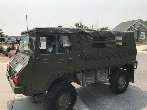great offroad 1974 Pinzgauer all Terrain Utility vehicle Military for sale